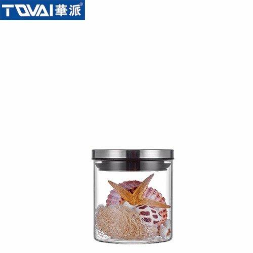 金属储物密封罐 金属盖 BC051