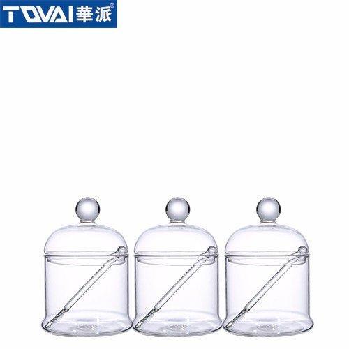 餐厨调味罐 玻璃罐套装 TQ600-B