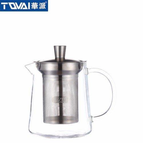 尊享茶器  泡茶壶透明色把  YH063