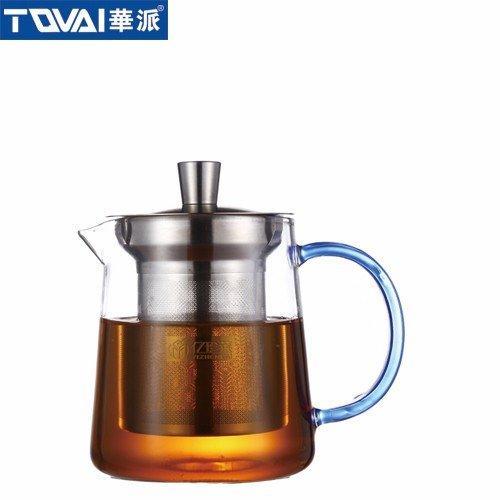 尊享茶器  泡茶壶蓝色把  YH062