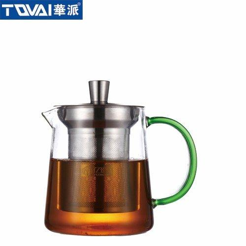 尊享茶器  泡茶壶绿色把  YH061