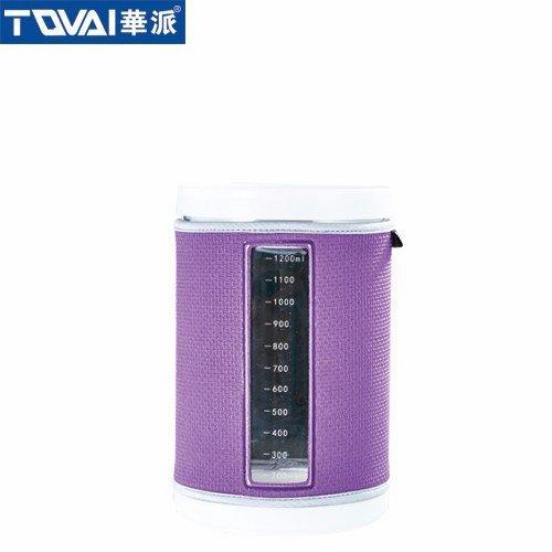 智储密封罐 带布套 QM803香芋紫