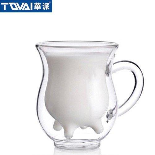 牛奶双层杯