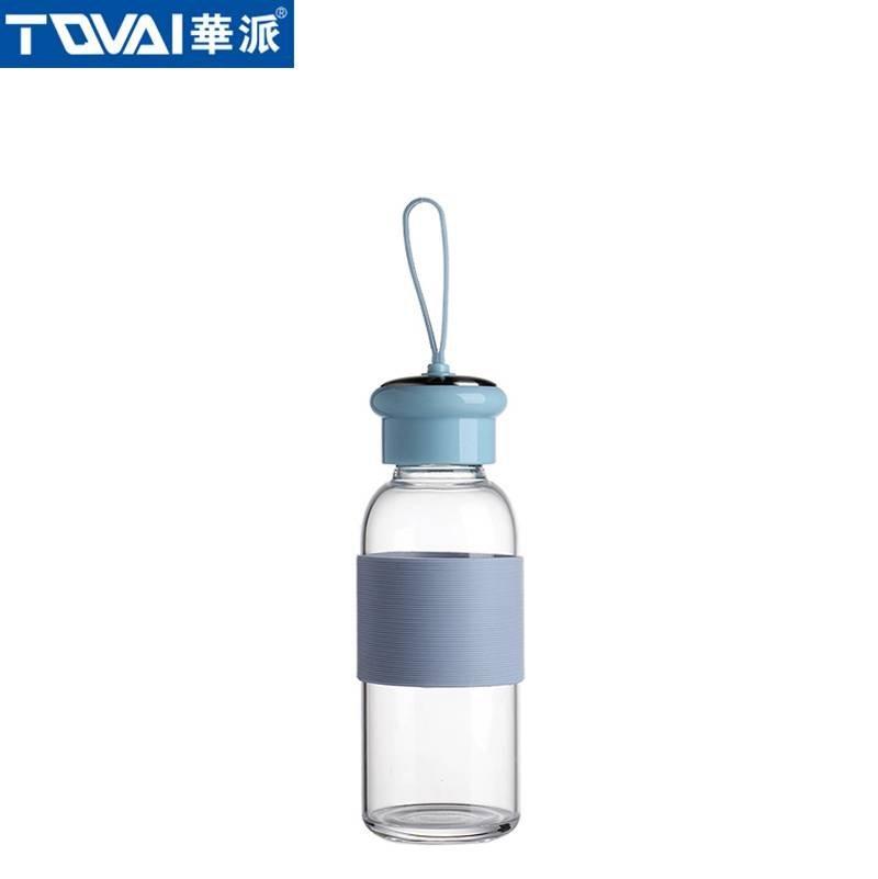华派玻璃水瓶 AW280 蓝