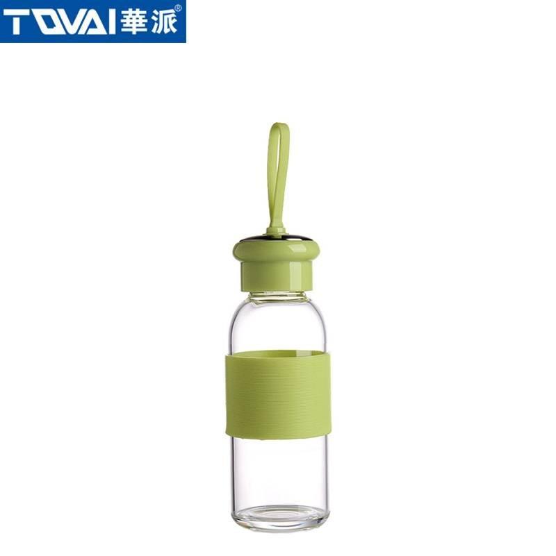 华派玻璃水瓶 AW280 绿
