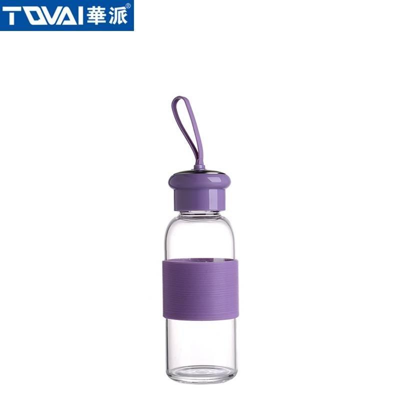 华派玻璃水瓶 AW280 紫