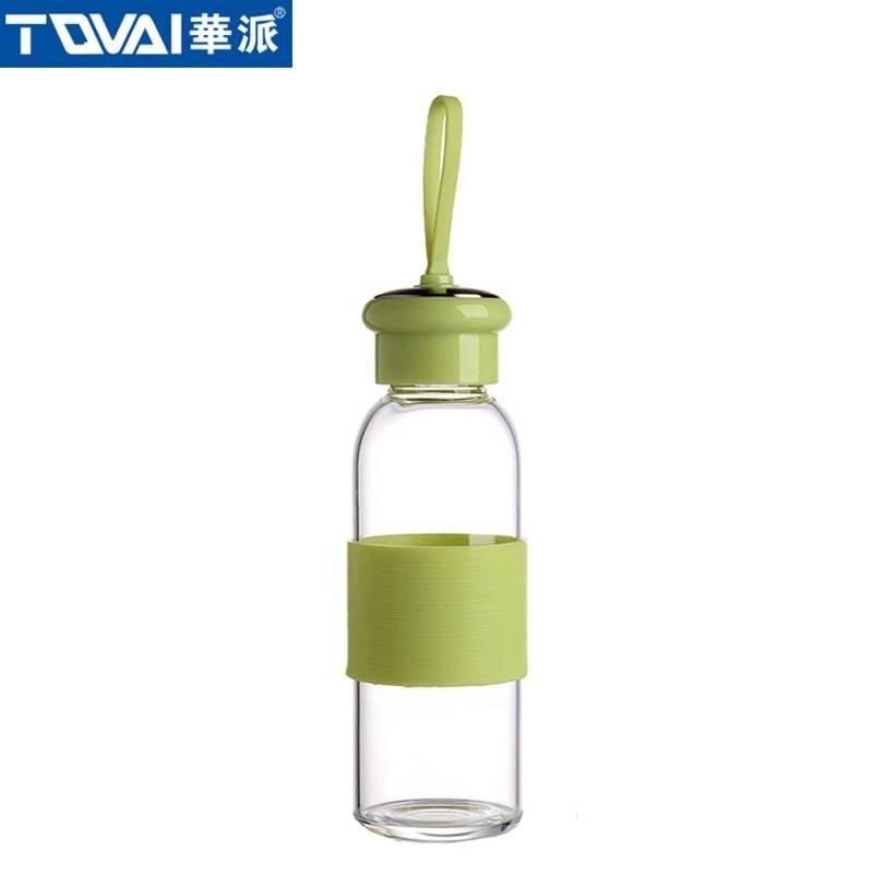 华派玻璃水瓶 AW360 绿